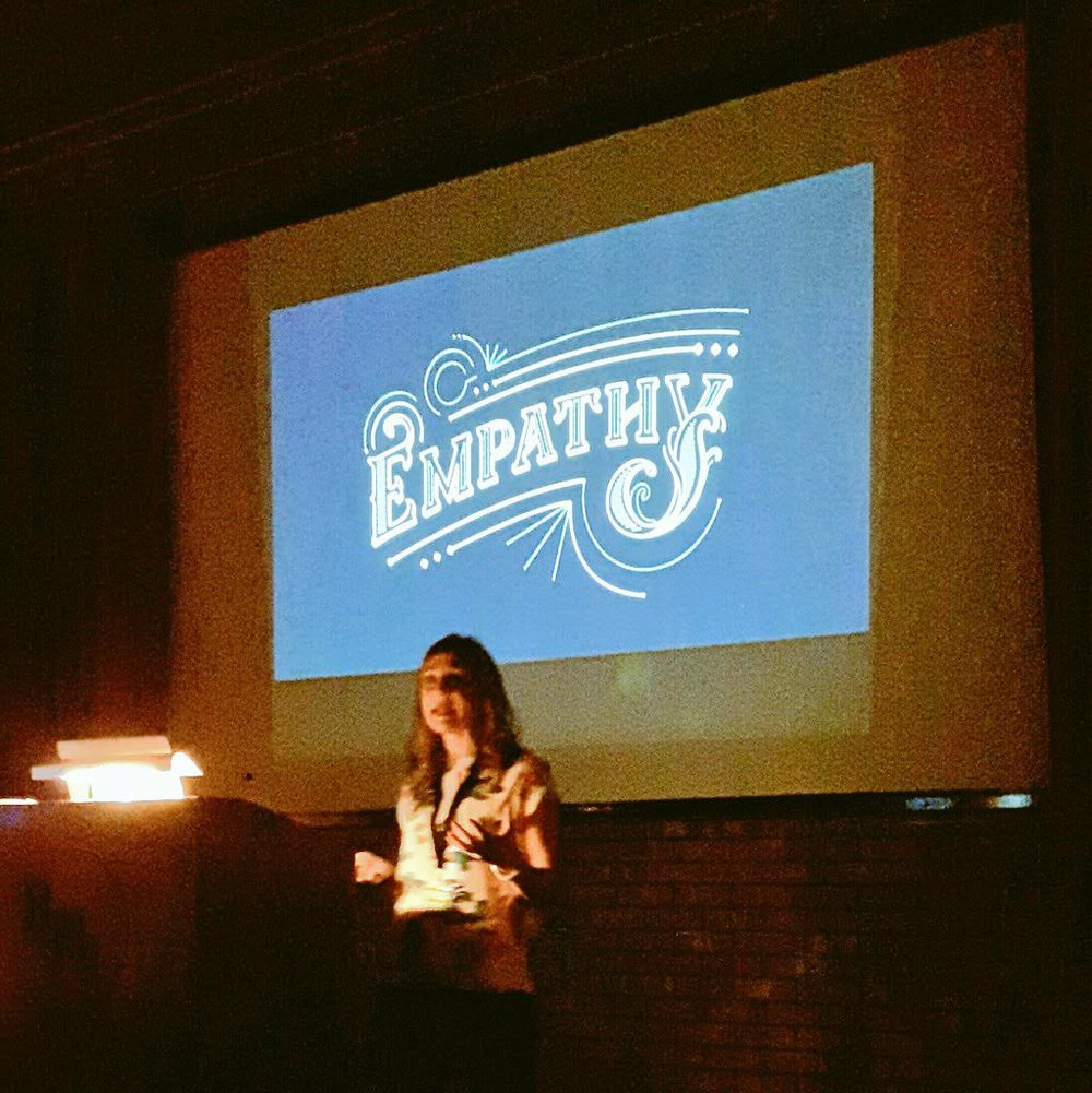 Lisa Maltby discussing Empathy & Design