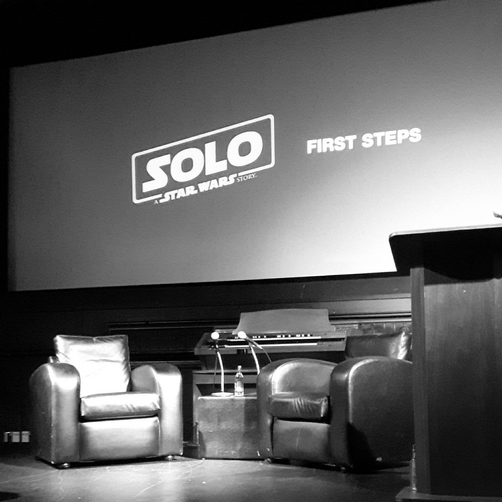 The stage was set for the introductory talk and Q&A with Andrew Booth from BLIND.