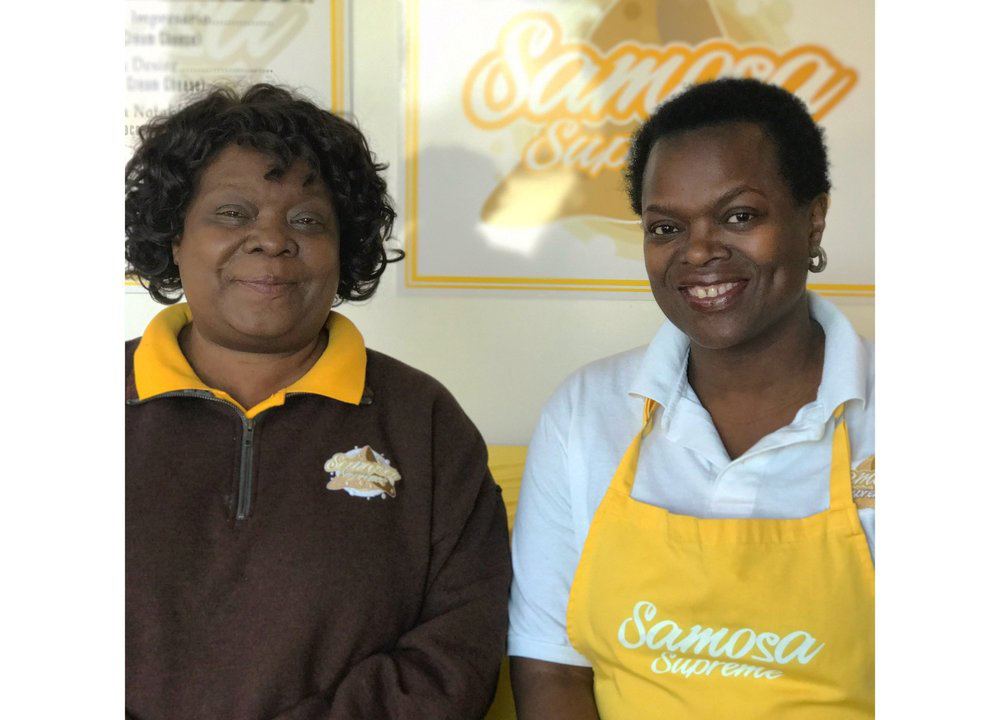 Jayne Musonye and Rose Musonye-Smith  are the founders of the Samosa Supreme Company. They have extensive experience in the food industry. Their experience includes product development, catering, cooking demonstrations, and franchise development. Many years of testing and developing various foods have resulted in the development of excellent products.