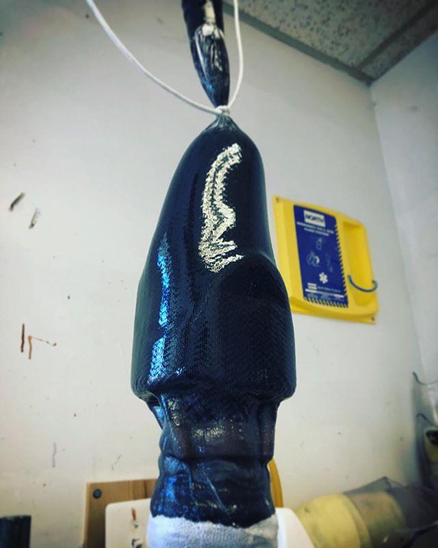 Transtibial Carbon Fiber lamination  #OPC #carbonfiber #prosthetics #orthotics #prosthesis #socket #carbon #prosthetist #prosthetictech #prosthetic