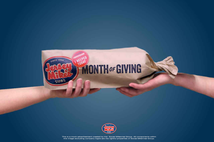 Graphic work for Jersey Mike's (Germantown Franchise)