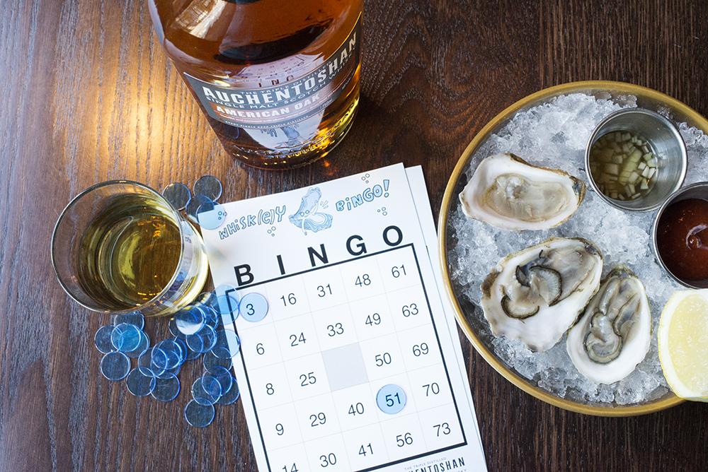 Whisk(e)y Oyster BINGO