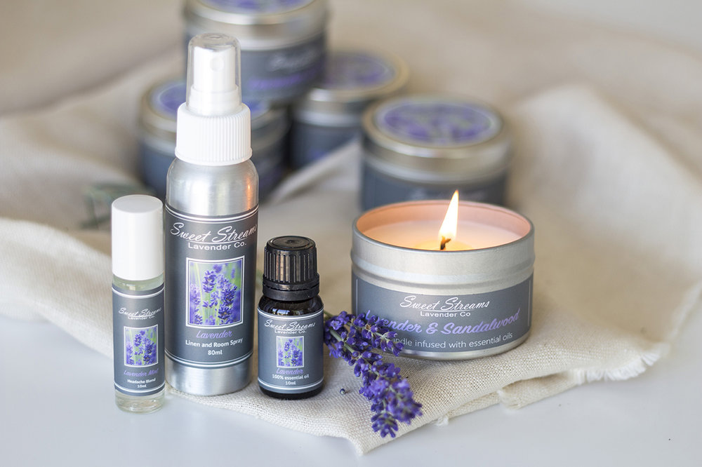 "Tis the season of giving and we want to say THANK YOU for being our loyal customer!  For the month of December we are offering either a free lavender essential oil ($14.95 value)  OR a free linen and room spray ($6.95 value) with your purchase of a Lavender Gift Set. Just use code ""THANKYOUOIL"" or ""THANKYOUSPRAY"" to indicate which free gift you would like with your purchase.  Want to send the gift set to a friend but keep the free gift for you? We have you covered!  Let us send the gift set to your friend or loved one, packaged to perfection. If you would like the free oil sent to you, just indicate your address in the purchase comments.  Let us make your holiday shopping easier while also taking time for yourself during this busy holiday season. Links to each of our gift sets are below:    Lavender ""Essentials"" Gift Box  – In our deluxe Lavender ""Essentials"" gift set, we include a lavender headache roller, a lavender linen mist, a lavender infused candle, and a lavender essential oil all presented in a lovely grey gift box. For the candle, choose between pure lavender, lavender sandalwood, lavender citrus, or lavender sage. Adorn your loved one with this lavender spa-scented gift set and help all their worries simply melt away.   Lavender ""Loves"" Gift Box  – In our lovingly curated, Lavender ""Loves"" gift set, enjoy all the products of our deluxe Lavender Essentials without the candle. The Lavender Loves set includes a lavender scented linen spray, a lavender headache roller, and a lavender essential oil – also presented in a lovely grey gift box.   You can also visit us during the month of December at Town Center in Leawood at the Handmade Holiday's pop-up shop for all your Christmas shopping.   Wishing you a Merry Christmas & a Bright Holiday Season!  Christina"