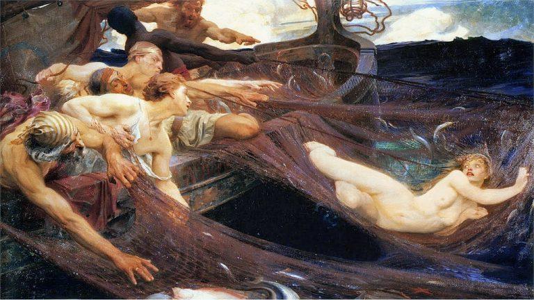 Painting by Herbert James Draper