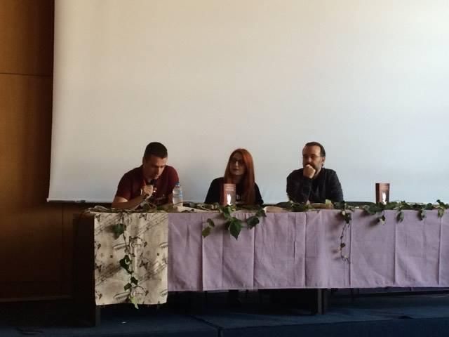 Παρουσίαση τριλογίας «Εφιάλτες» της 'Αρτεμις Βελούδου-Αποκότου Ομιλητές: Γιώργος Δάμτσιος, Γιώργος Ιωαννίδης