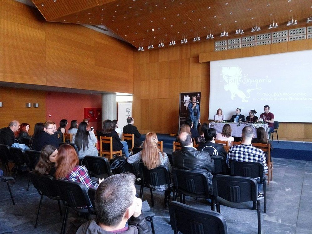 Παρουσίαση των βιβλίων «Εκ νεκρών» και «Κάτω από το κρεβάτι» του Γιώργου Γιώτσα. Ομιλητές: Μάριος Δημητριάδης, Αγνή Σιούλα, Βέρα Καρτάλου