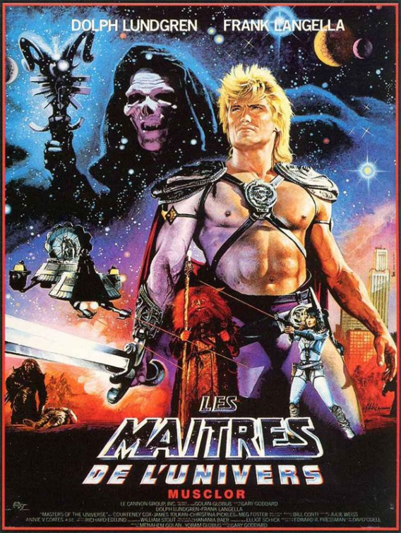 Masters of the Universe -  Poster, 1987