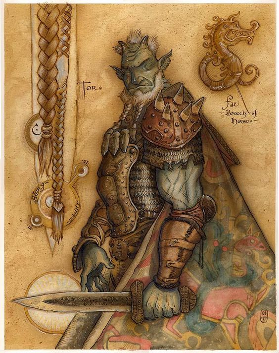 Troll - Art by Tony Diterlizzi