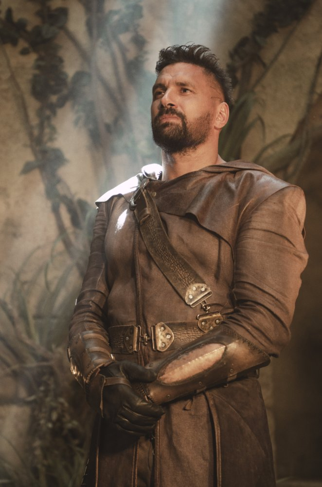Manu Bennett in The Shannara Chronicles (2016), photo source Imdb, Photo by MTV - © 2016 MTV