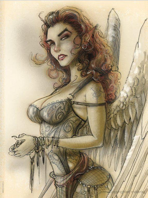 Art by Tony DiTerlizzi
