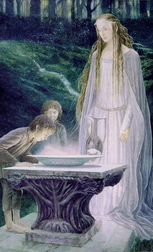 Art by Alan Lee