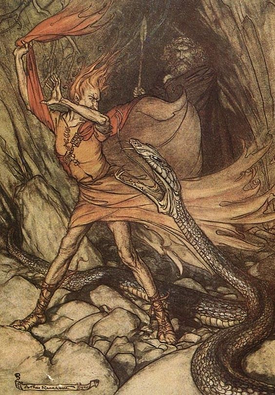 Art by Loki- Arthur Rackham