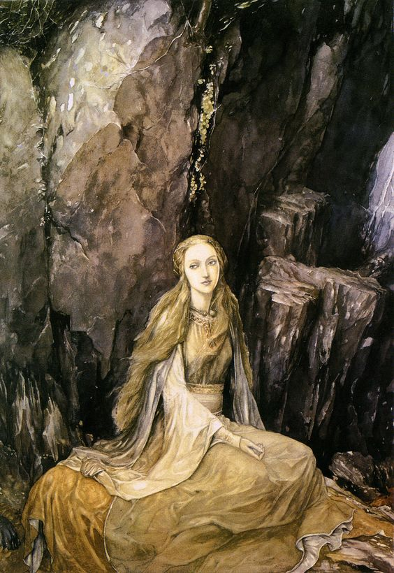 Alan Lee illustration for The Mabinogion