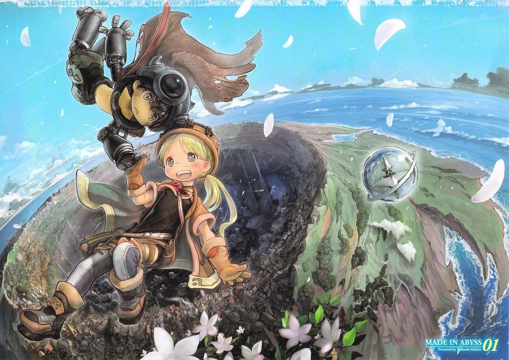 Made in Abyss vol. 1 - Cover [Art  by Akihito Tsukushi] .jpg