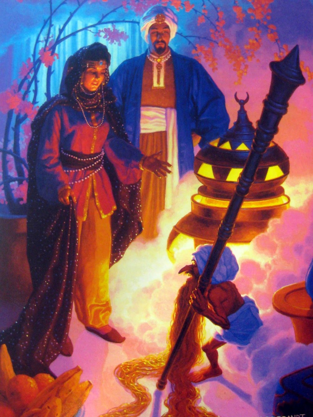 Paribanou and Schaibar by Greg Hildebrandt