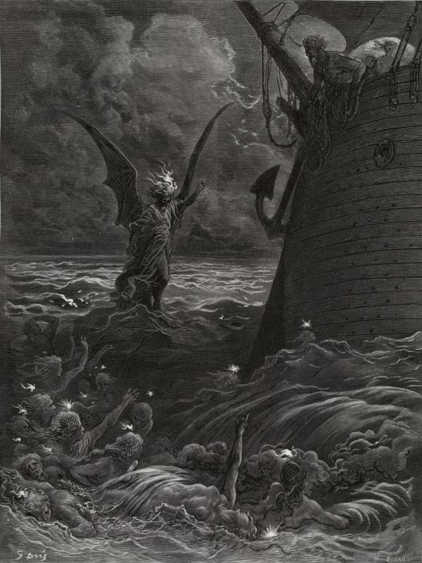 Death Fires by Gustave Dore