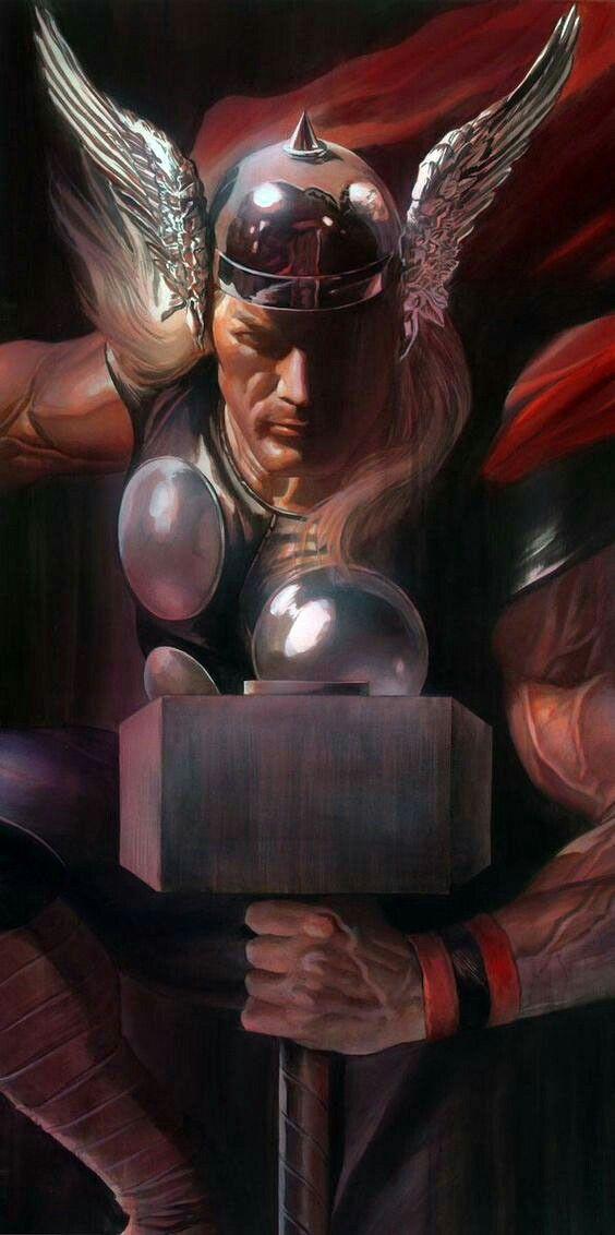 SHADOWS: Thor - Alex Ross Art
