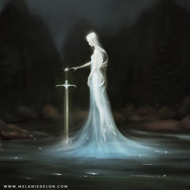 Lady of the Lake by Melanie Delon