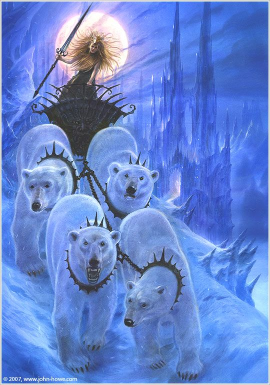 The White Witch by John Howe
