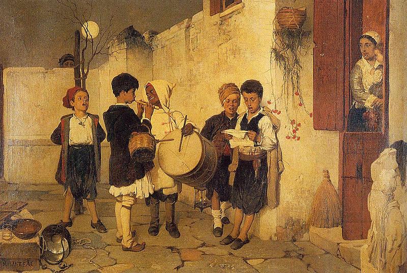 Νικηφόρος Λύτρας,Κάλαντα.1872