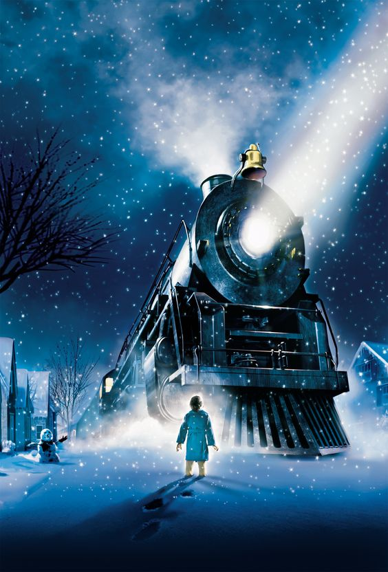 Poster from the Polar Express movie