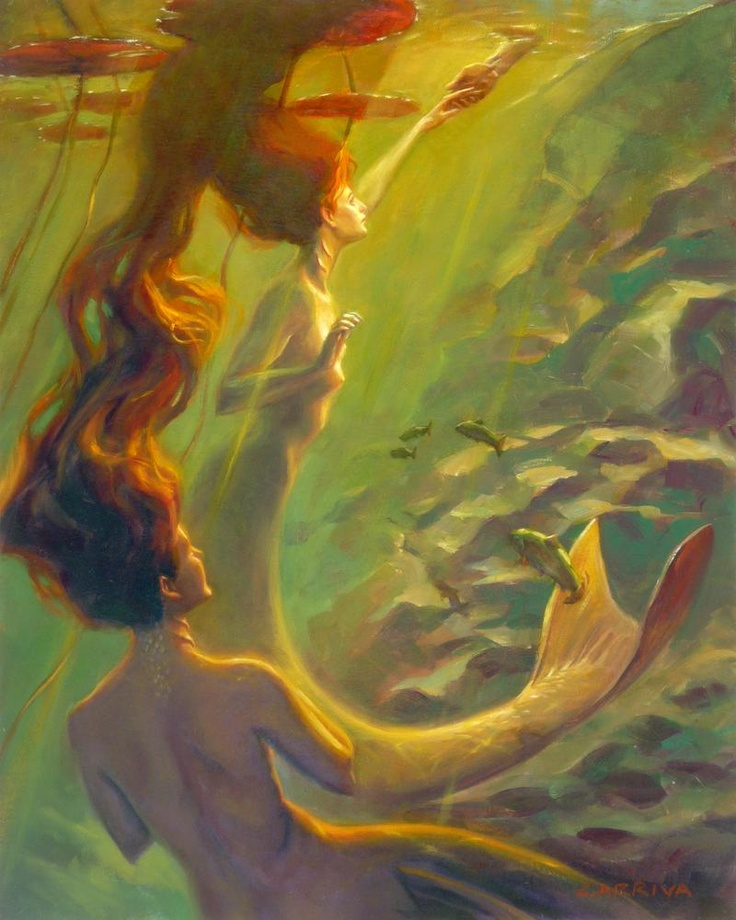 Water Nymphs by John Larriva