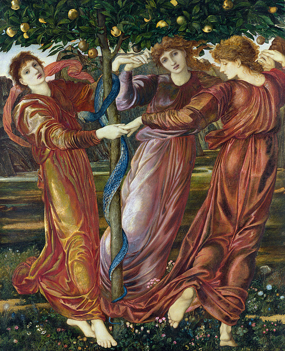 Garden Of The Hesperides Painting by Sir Edward Burne Jones