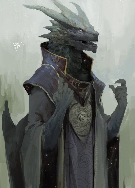 Dragon pen art 02 WIP by ZombieHun