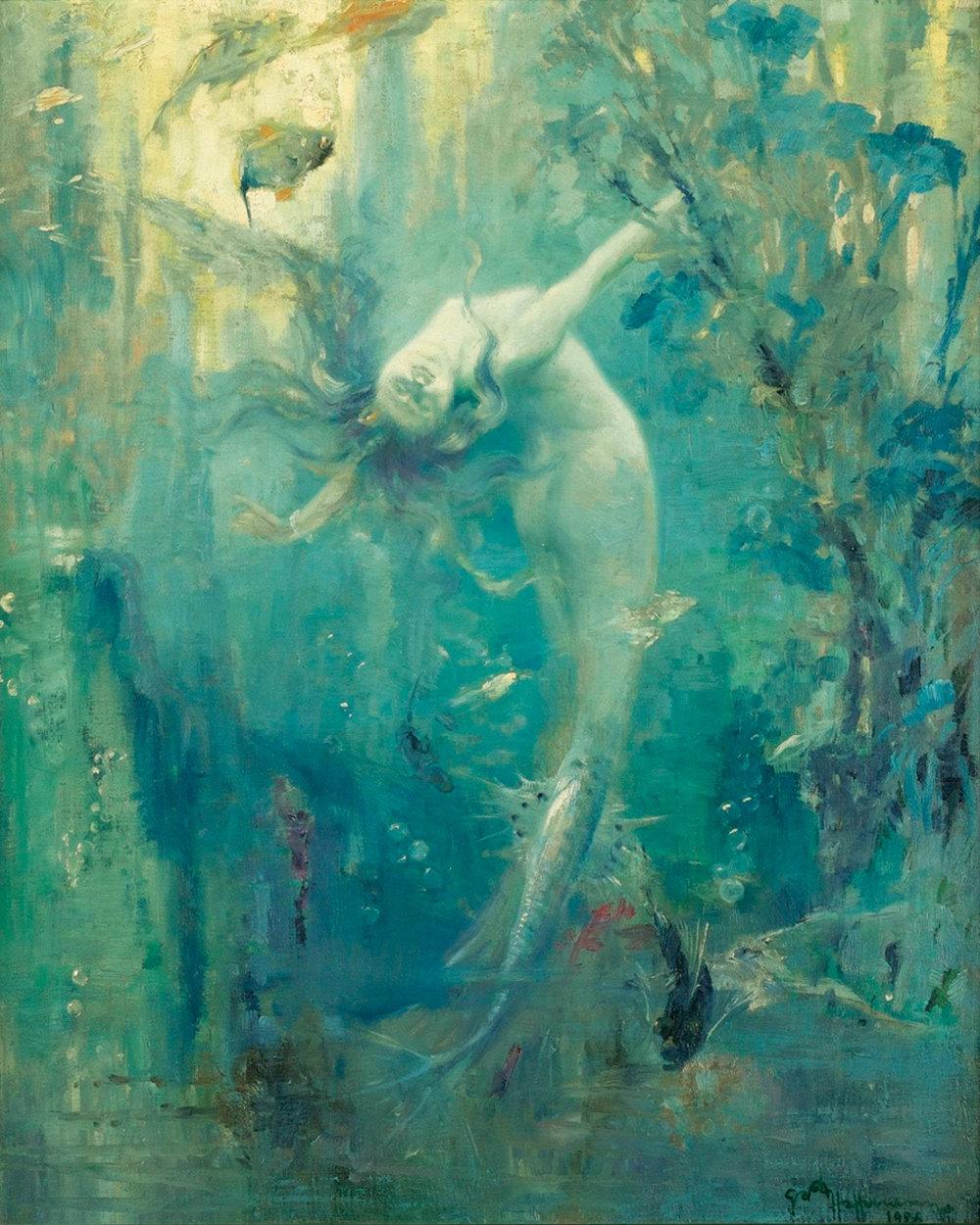 Gaston Hoffmann Sirene 1926