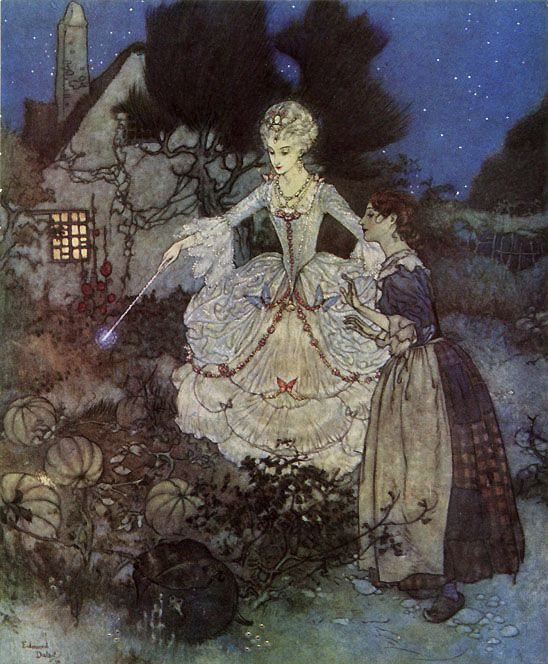 Art by Edmund Dulac