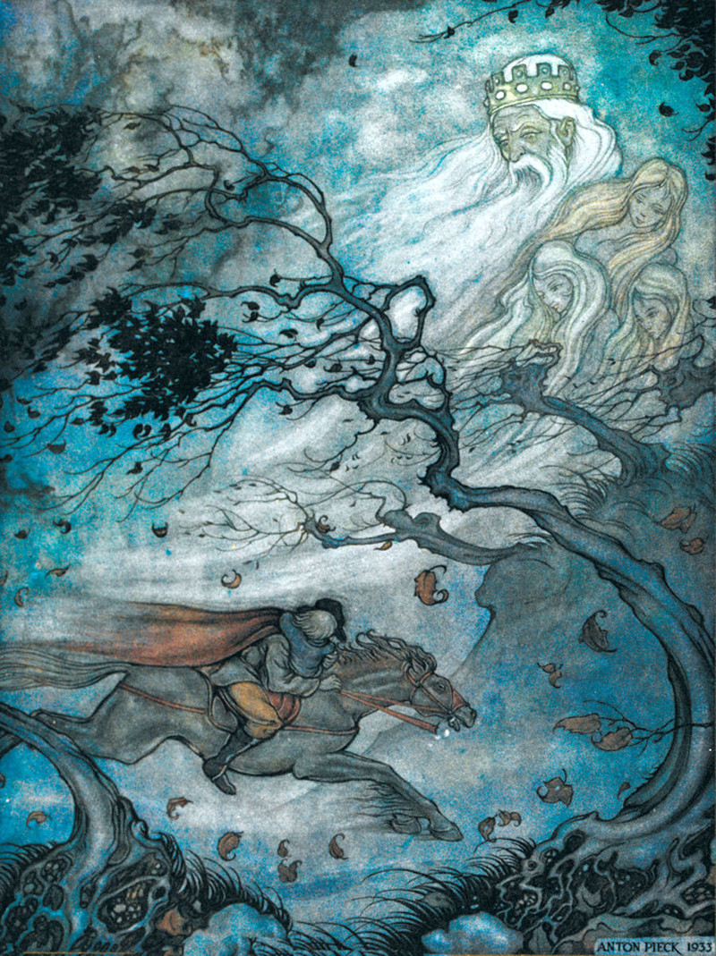 Artwork by Anton Pieck