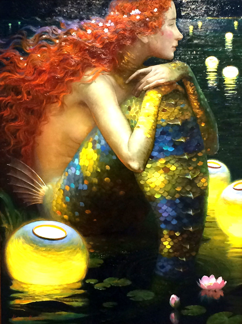 Oil painting by Victor Nizovtsev