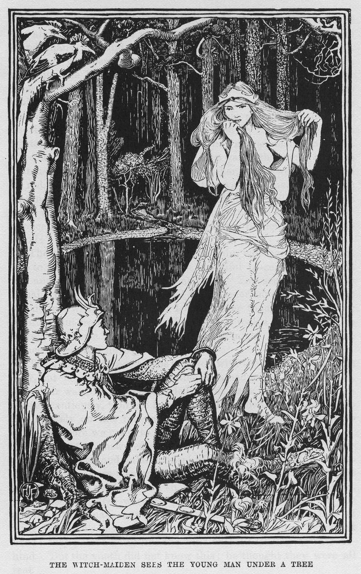 Henry Justice Ford - The Yellow fairy book, edited by Andrew Lang 1894