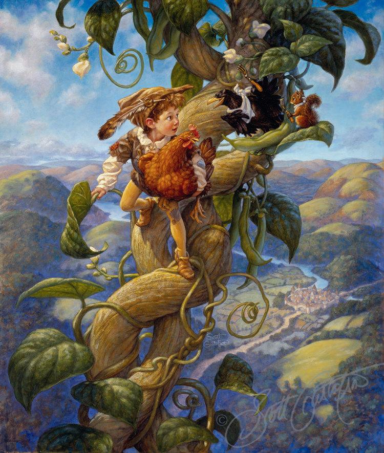 Scott Gustafson Jack and the Beanstalk