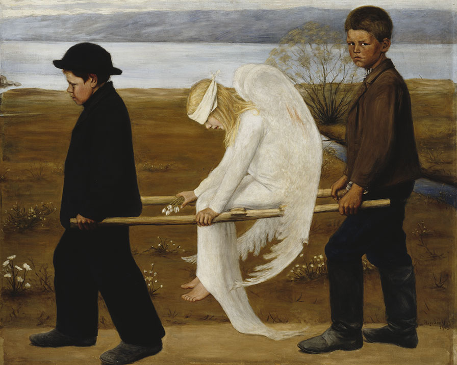 The Wounded Angel | The Other World of Hugo Simberg