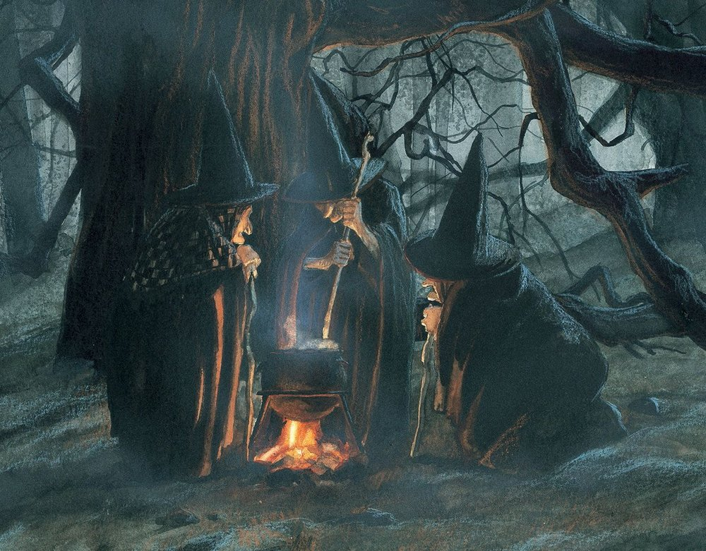 Halloween's Witches by Studio JB Monge