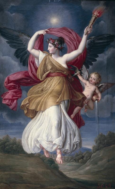 Aurora - Jose de Madrazo y Agudo (1781-1859)