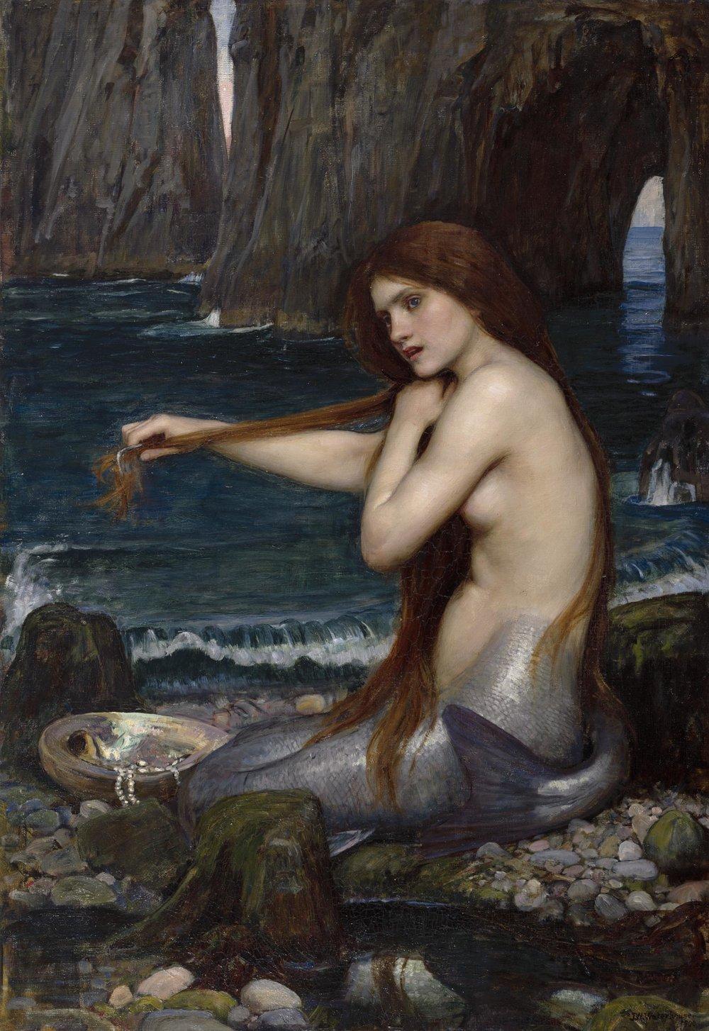 John William Waterhouse, 'Mermaid'