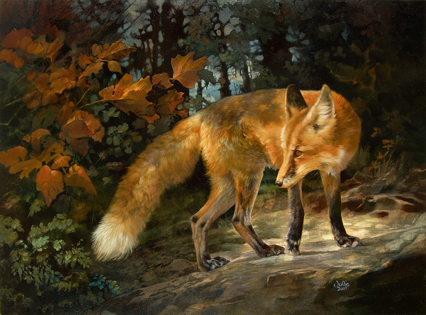 Fox by Julie Bell