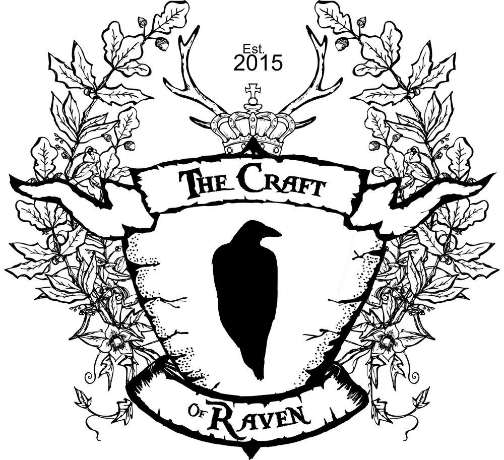 LogoTheCraftOfRavenB&W.jpg