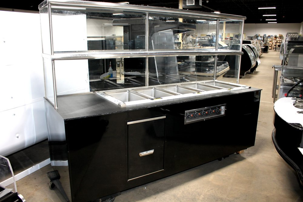 Custom Delfield 5 well Hot Food Station-$6500