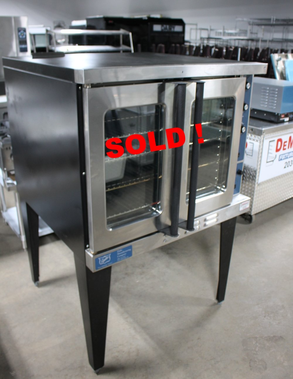 DUKE-E101-CONVECTION OVEN-$1900