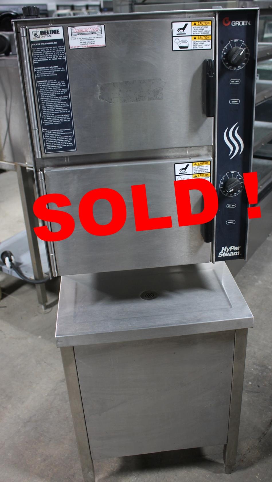 Groen HY-6G Hyper Steam Oven-$8,500.00