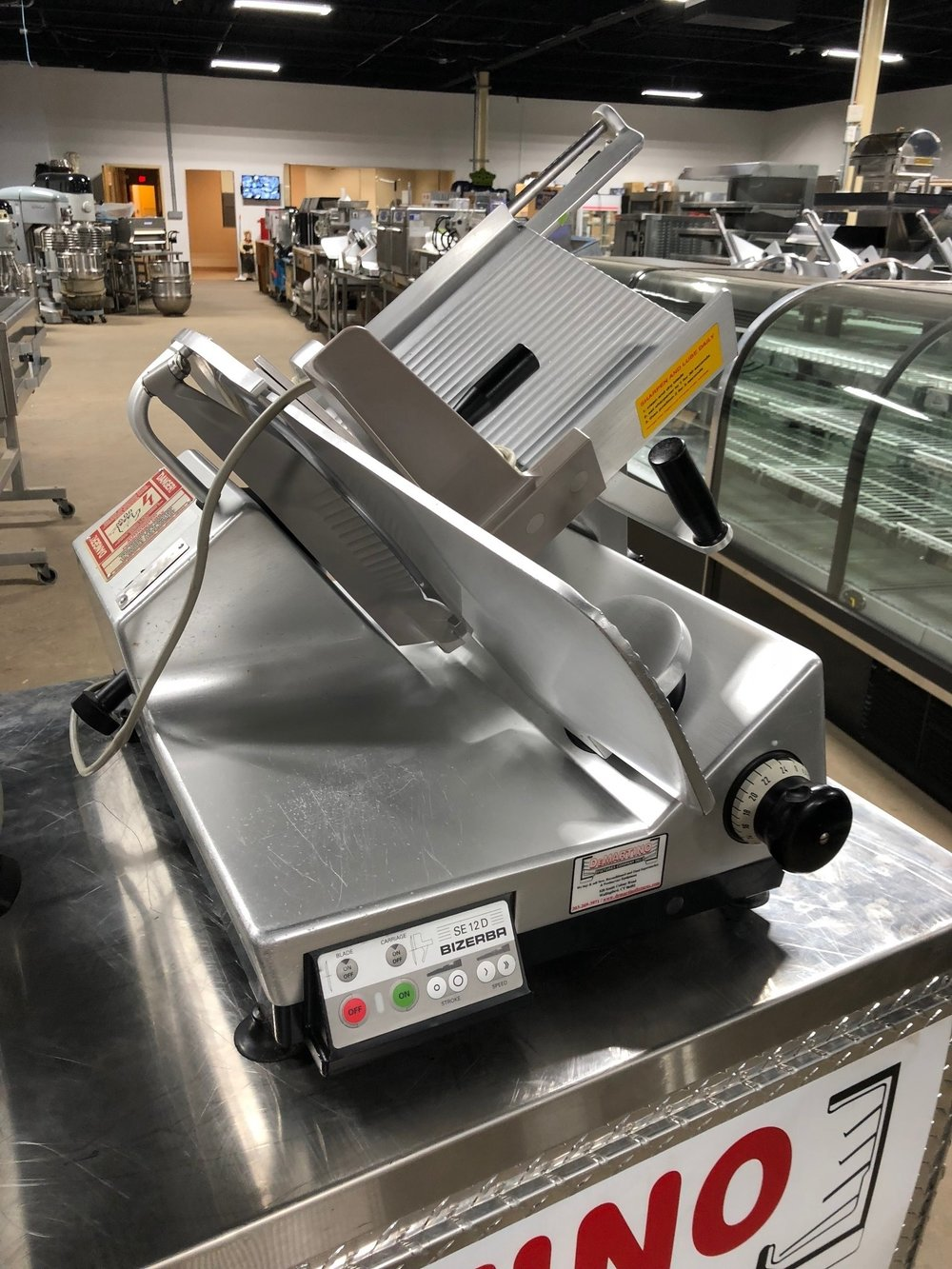 Bizerba SE12 D-Automatic Slicer -Please Call