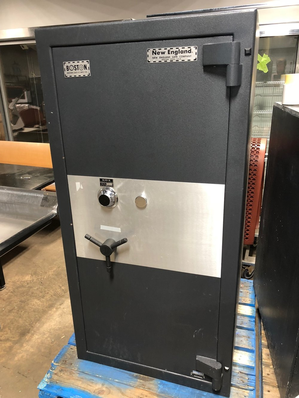 New England Safe Co.-$4,900.00
