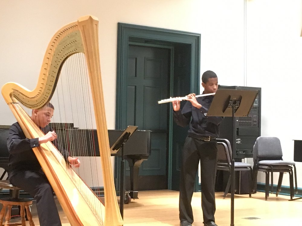 Anthony Alark and Jonah Lassiter, Tuned-In Chamber Music, Peabody Preparatory