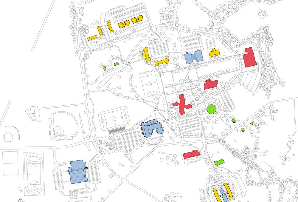 Campus Diagram - Existing Program.