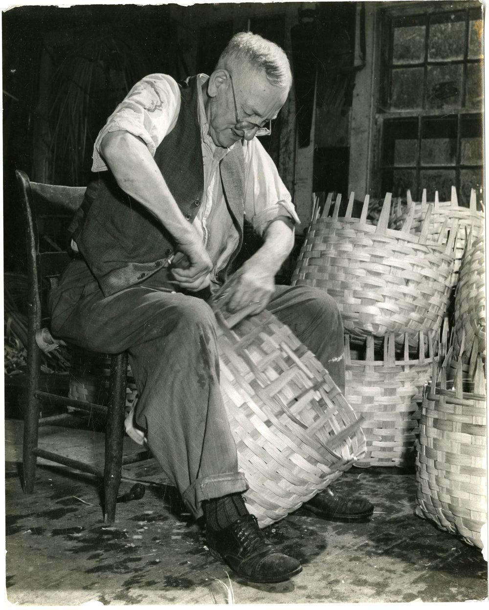 Fred Bennett Scofield (1866-1950), basket maker