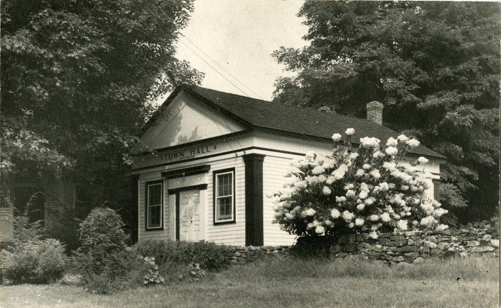Early view of Stone Hill Road Presbyterian Lecture Room c. 1800's, now our museum