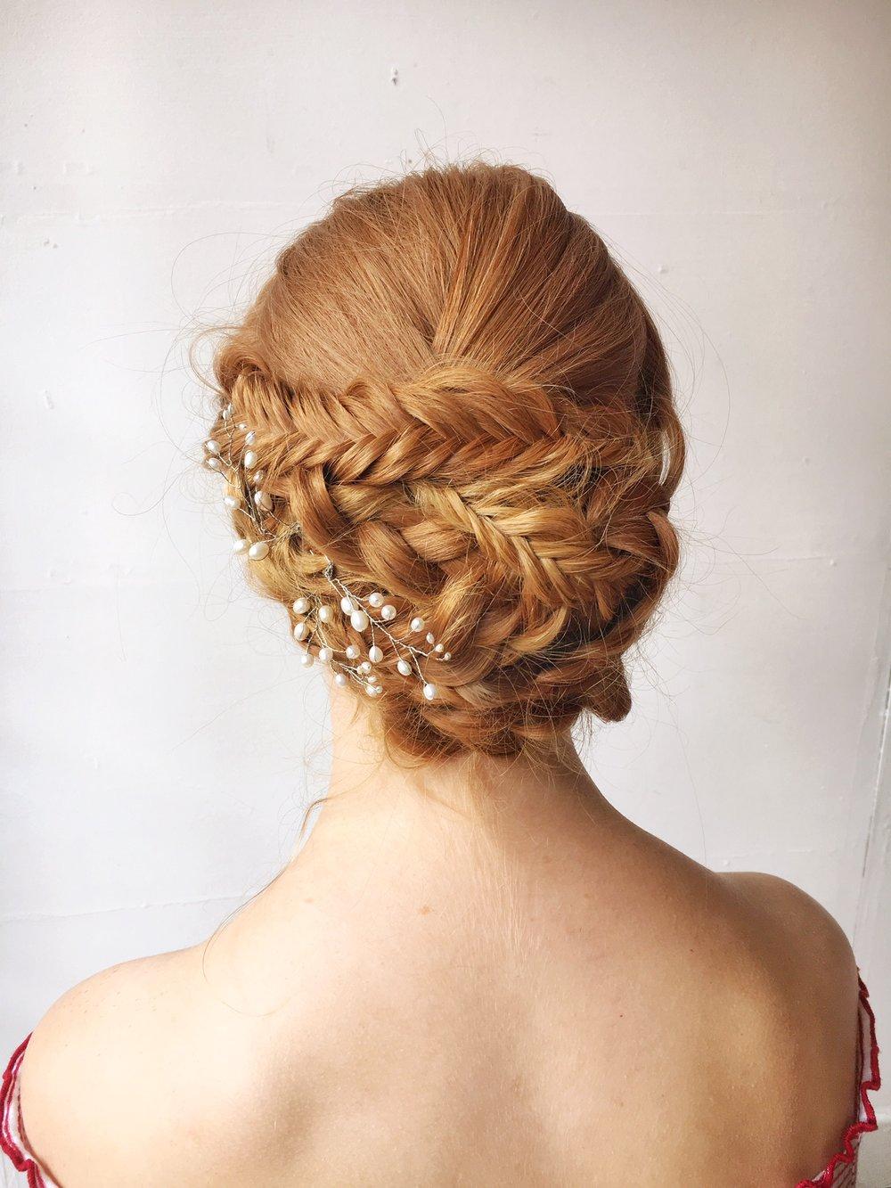 Suffolk wedding hairdresser
